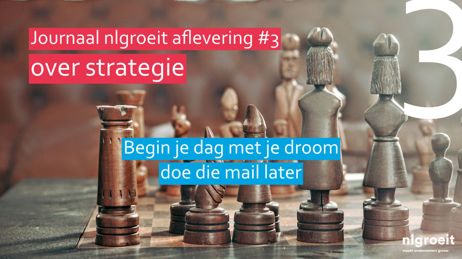 nlgroeit - journaal 3 strategie